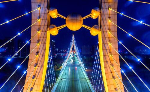 桥梁景观工程亮化